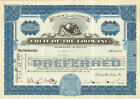 Fruit of the Loom famous Rhode Island underwear company blue stock certificate