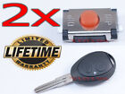 2x NEW SWITCH BUTTON REMOTE KEY FOB LAND ROVER DISCOVERY 2 DISCO HSE TD5 LR