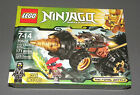 LEGO Set 70502 Ninjago Cole's Earth Driller w Cole, Swordsman NEW