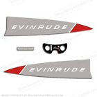 Evinrude 1965 18hp Outboard Decal Kit -Discontinued Decal Reproductions in Stock