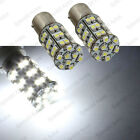 2 PCS Xenon White 45-SMD 1156 1619 1651 1680 3496 7506 LED Turn Signal Lights