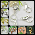 wholesale 10MM 12MM 14MM Lobster Clasp hooks Gold Silver Bronze black 6 colors