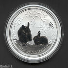 1 oz 2011 Series II Australian Lunar Rabbit Silver Bullion Coin Perth Mint
