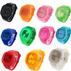 Square Jelly Casual Sport Silicone Quartz Wrist Watch Men/Women Unisex 11 Color