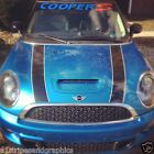 """Mini """" COOPER S """" 2 color Window Or Windshield Decal Decals Sticker Fit all Yr"""