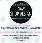 Full 100% Professional custom eBay Shop / Store  design  service and install