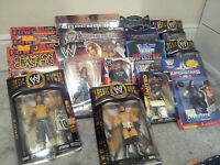 WWE CLASSIC SUPERSTAR SERIES AND OTHERS LOTS TO CHOOSE FROM WRESTLING FIGURE