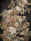 22 x 45 floral panel, Imperial Collection - browns, beiges with gold QA BBR111