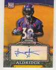 2008 BOWMAN STERLING ANTHONY ALDRIDGE AUTO RC /1050 GOLD DENVER BRONCOS