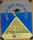 NASA's best kept secret original 1990's space education program promo poster