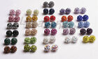 Wholesale 10MM Shamballa Crystal beads Pave Disco Balls For Multi color