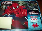 """SPIDERMAN METAL LUNCH BOX WITH 100 PIECE PUZZLE 15"""" X 12.5"""" (38.1CM X 31.75CM)"""