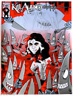 KILL AUDIO, ORIGINAL Poster signed Brian Ewing, ARTIST PROOF, 2008 NY COMIC CON