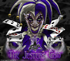 "HONDA ALL YEARS TRX450R 450R ATV GRAPHICS ""THE JESTERS GRIN"" FOR BLACK PARTS"
