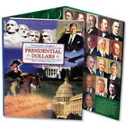 Presidential Dollar Book 2007-2016 Collector P & D Mint