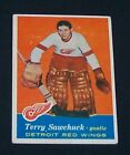 1957-58 Topps TERRY SAWCHUK #35 Vgex/Ex RED WINGS !!!
