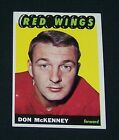 1965-66 Topps DON McKENNEY #112 Nrmt/Nrmt+ RED WINGS !