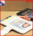 White Samsung Galaxy S2 i9100 Slim Wallet Credit Card Flip Leather Pouch Case