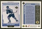 99-00 UD Retro Distant Replay Ray Bourque #DR1