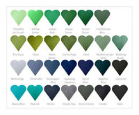Wool Felt Blend Fabric -GREEN/BLUE/GREYS - Check Out Below DISCOUNTS On Our FELT