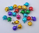 random Mixed color Christmas jingle Bells Charms Pendant beads 6MM 8MM 10MM 12MM