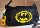 AMAZING VINTAGE RARE 1989 BATMAN KNIGHT DC PENCIL CASE BAG MADE IN ITALY NEW !