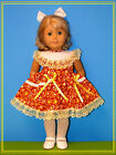 18''DOLL-HOLIDAY CUTE Dress -for ALL 18 Inch l Doll Clothes