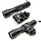 25mm for 20mm Rail Mount + WF-501B CREE T6 LED 5 Mode 1000lm Flashlight Torch