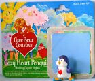 1985 COZY HEART PENGUIN Care BEARS COUSINS w. ORIGINAL CARD