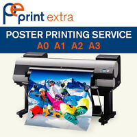 Full Colour Professional Poster printing A0 A1 A2 A3