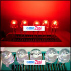 20Pcs x 8mm 0.5W HP StrawHat DIP LED 100.000mcd 140 Red