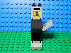 LEGOS - Set of 3 Black Boxes, Containers 2 X 2 X 2 with Money Bag Pattern