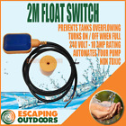 Float Switch Automatic Water Pump Regulator 2 metre FREE POST