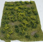 "JTT SCENERY 95605 FLOWERING MEADOW LANDSCAPING SHEET YELLOW 5"" X 7"" JTT95605"