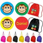 Personalised Monkey Backpack - Assorted Bag Colours