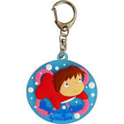 Ponyo Rubber Key Chain ponyo on the cliff by the sea from JAPAN