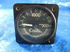 Cessna Aircraft Oxygen Cylinder Pressure Gauge, P/N AW1827AE04 (1587)
