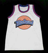 WILE E. COYOTE TUNE SQUAD SPACE JAM MOVIE JERSEY WHITE NEW ANY SIZE XS - 5XL