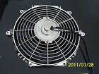 12 INCH LOW PROFILE CHROME HIGH PERFORMANCE THERMO FAN WITH CHROME MOTOR