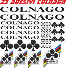 KIT 23 ADESIVI COLNAGO BICI STICKERS COLNAGO BIKE