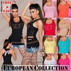 NEW SLEEVELESS SHIRTS for WOMEN size 6 8 10 12 TANK TOPS LADIES SINGLET XS S M L