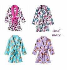 New Disney Bath Robe Girls 4/5 6/6x 7/8 10/12