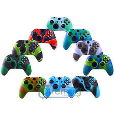 Camo Soft Silicone Rubber Case Skin Grip Cover For Xbox One Wireless Controller