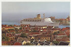 TSS Fairwind in Curacao Large Postcard - Sitmar Cruises