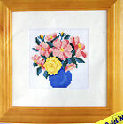 Vase of Flowers – Semco easy counted cross-stitch kit