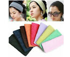 Wide Stretch Sports Turban Elastic Cotton Head Wrap Hair Band Headband