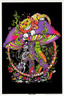 POSTERS : FANTASY: MUSHROOM PEACE - BLACKLIGHT -FREE SHIPPING ! FL30 RC18 L