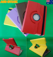 Apple iPad Mini 1,2 Display Case 360° Rotate PU Leather Case Cover Stand NEW