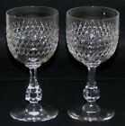 Two Baccarat Lucullus Wine Glasses - Very Hard to Find