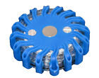 """RPF16LM BLUE RECHARGEABLE PORTABLE 16 LED POWER FLARE """"POWER-MARKERS"""" MAGNETIC"""